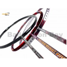 Staff Picks 3 : 3 Rackets - Apacs Feather Weight 200, Apacs Stern 90 Offensive & Apacs Nano Fusion Speed 722 Black