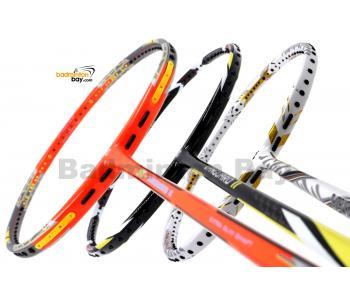 Staff Picks Vanguard1  : 3 Rackets - Apacs Z Vanguard II (Compact Frame), Apacs Vanguard 11 Black White & Apacs Vanguard 88 White Badminton Racket