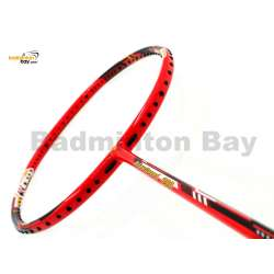 30% OFF Victor Arrow Speed 990 Bright Red Badminton Racket (4U-G5) With Tiny Scratch (Refer picture)