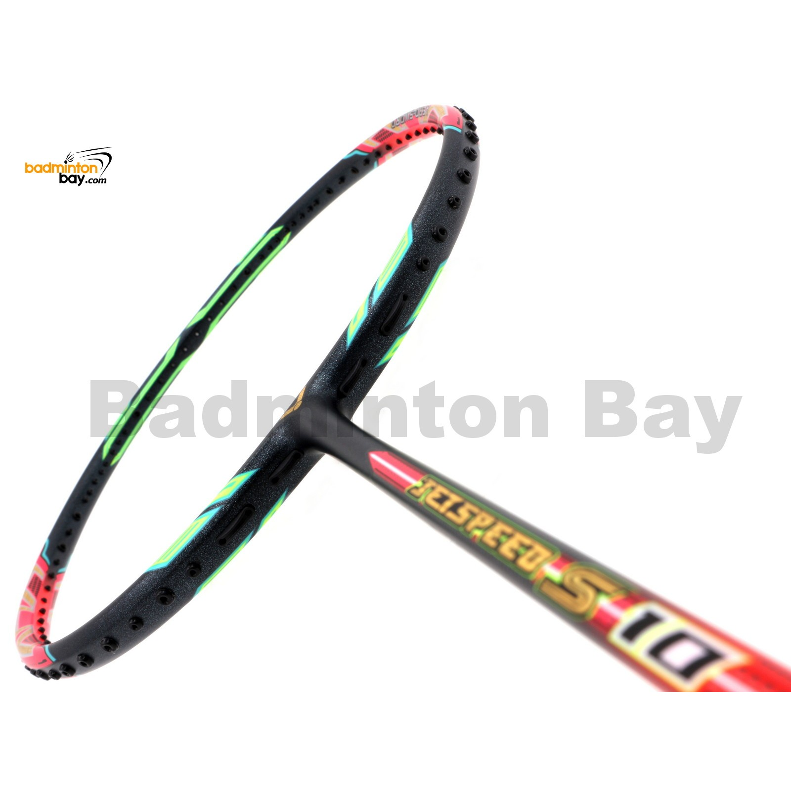Victor Jetspeed S10 Q Neon Virtual Pink Badminton Racket ...