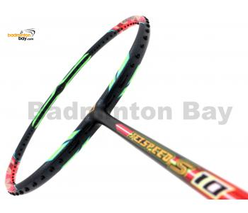 Victor Jetspeed S10 Q Neon Virtual Pink Badminton Racket (4U-G5) + Free BR155 1-Compartment BLUE Bag