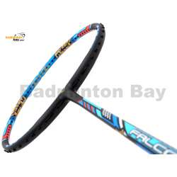 Victor Limited Tai Tzu Ying Edition Falcon TK-F Black Dina Blue Badminton Racket (4U-G5) + Free BR155 1-Compartment BLUE Bag