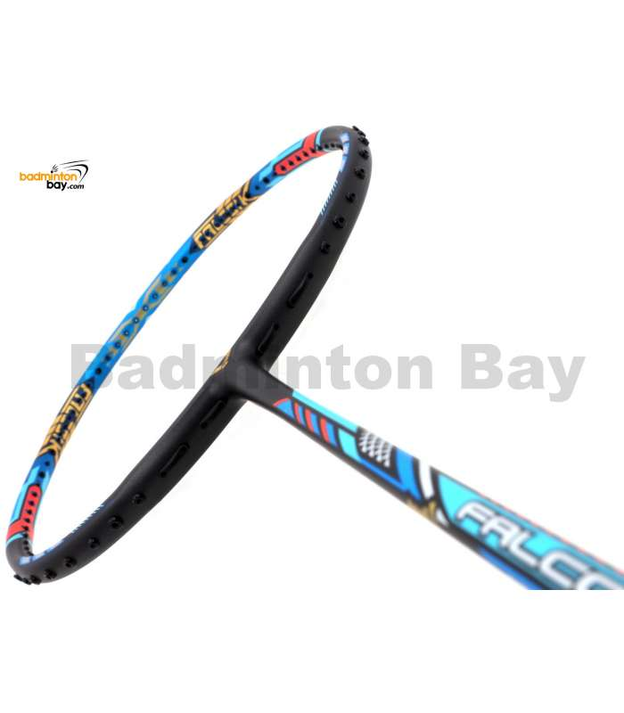 Victor Limited Tai Tzu Ying Edition Falcon TK-F Black Dina Blue Badminton Racket (3U-G5) + Free BR155 1-Compartment BLUE Bag