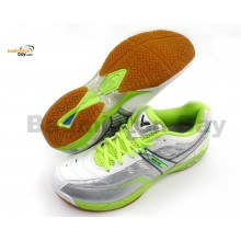 Victor SH-910SG Neon White Badminton Court Shoes