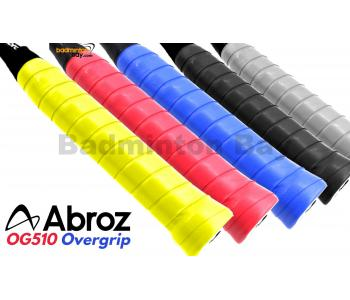 Abroz PU Overgrip (8 Pieces) in Assorted Colors For Badminton Squash Tennis Racket AZ-OG510 PU Grip