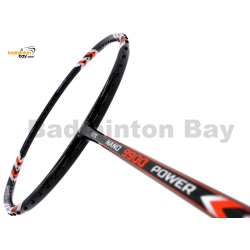 30% OFF Abroz Nano 9900 Power Badminton Racket (5U) Strung with Black Abroz DG67 Power String @ 24 lbs Slight Paint Scratch On Frame (refer picture)