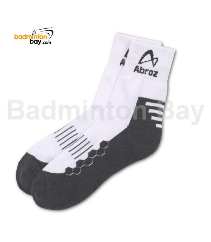 Abroz Badminton Sports Socks SC110 Grey (1 pair)