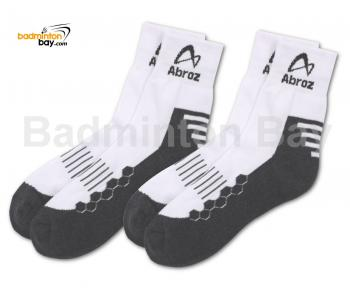 Abroz Badminton Sports Socks SC110 Grey (2 pairs)