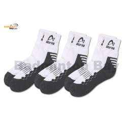 Abroz Badminton Sports Socks SC110 Grey (3 pairs)