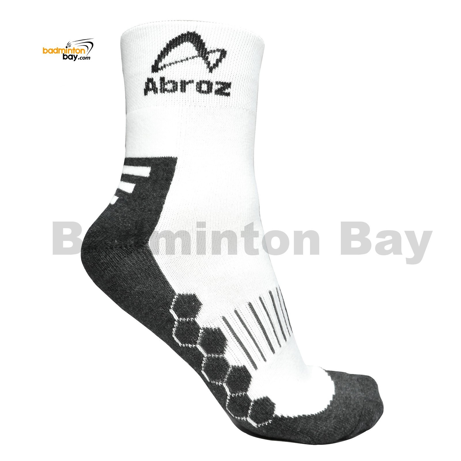 162e22a2a Abroz Badminton Sports Socks SC110 Grey (1 pair)
