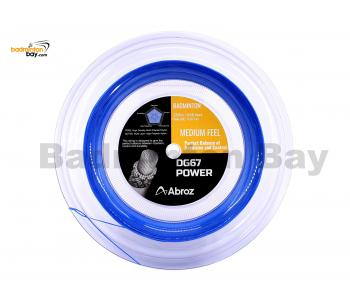 Abroz DG67 Power 200-meter Badminton String (0.67mm) In Coil (1 Roll)