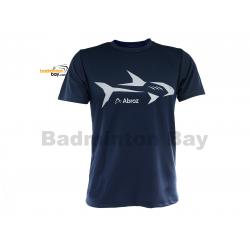 Abroz Round Neck Shark A002 Navy Blue T-Shirt With Cool-Tech Dry Fast Sports Jersey