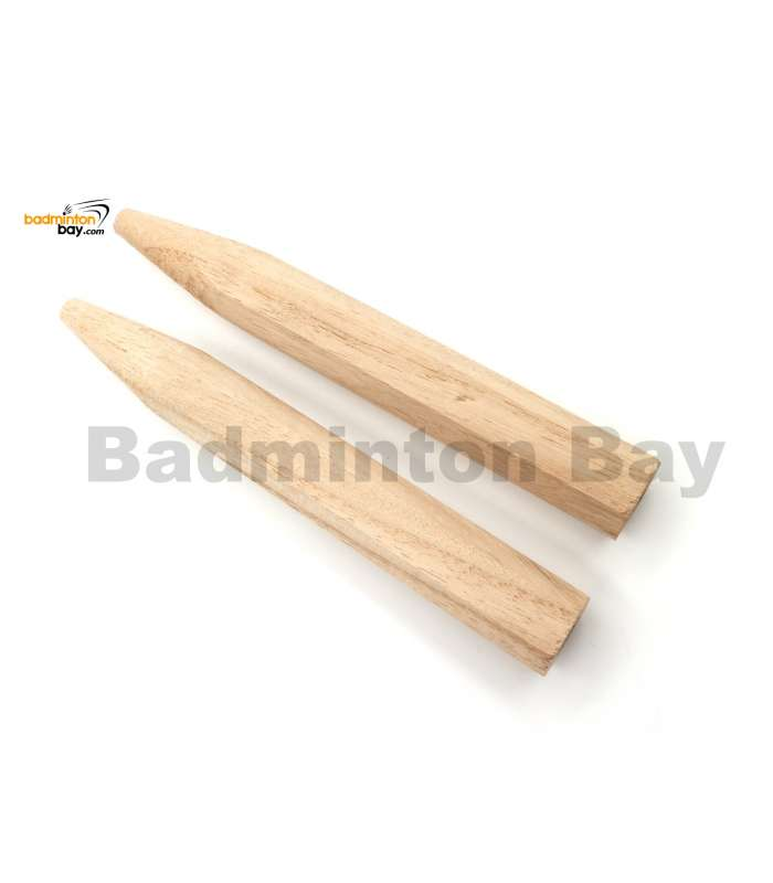 Abroz Wooden Replacement For Badminton Racket Handle (2 pieces)
