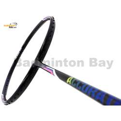 Apacs Accurate 77 Black Navy Glossy Badminton Racket (4U)