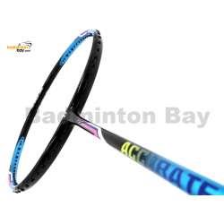 Apacs Accurate 77 Blue Black Glossy Badminton Racket (4U)