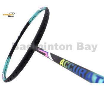 Apacs Accurate 77 Green Black Matte Badminton Racket (4U)