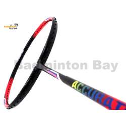 Apacs Accurate 77 Red Black Matte Badminton Racket (4U)