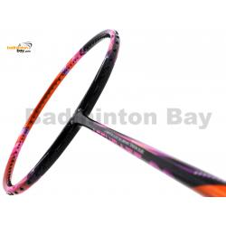 Apacs Accurate 99 Black Orange Pink Glossy Badminton Racket (4U)