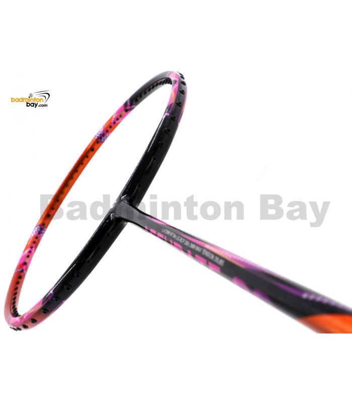 Apacs Accurate 99 Black Orange Pink Glossy Badminton Racket (4U)