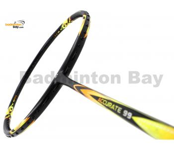 Apacs Accurate 99 Black Yellow (Matte) Badminton Racket (4U)