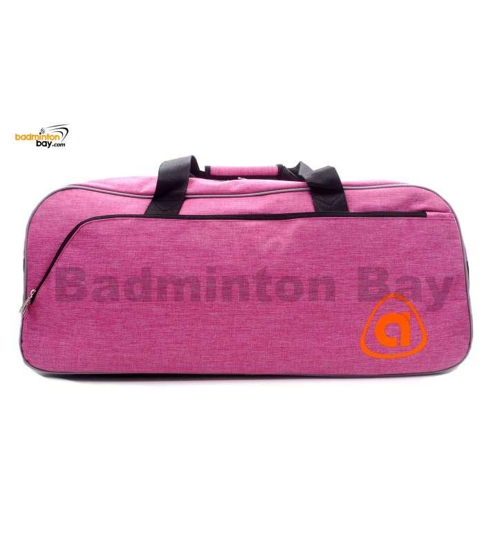 Apacs 2 Compartments Padded Badminton Racket Bag AP2518 Pink