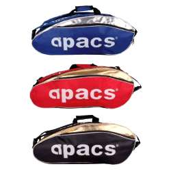 Apacs 3 ( Triple ) Compartments Non-Thermal Badminton Racket Bag AP3806