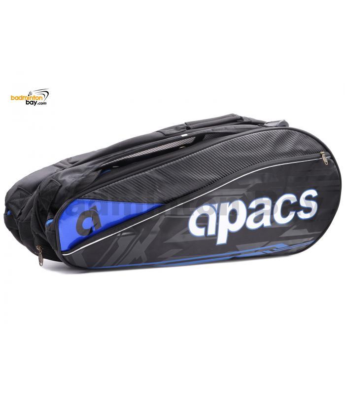 Apacs 3 ( Triple ) Compartments Non-Thermal Badminton Racket Bag AP3807