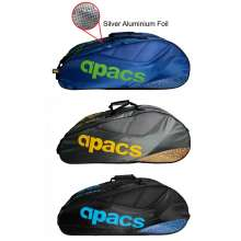 Apacs 2 Compartments Thermal Badminton Racket Bag AP602ii
