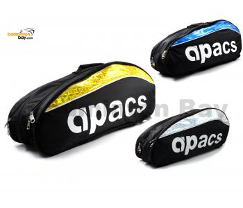 Apacs 2 Compartments Padded Partial Thermal Badminton Racket Bag D2607-NG