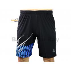 Apacs Dri-Fast Quick Dry Sport Shorts Pants BSH106 Blue Silver With 2 Pockets