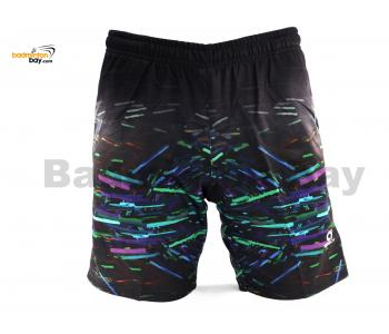 Apacs Dri-Fast Quick Dry Sport Shorts Pants BSH113 Black With 2 Pockets