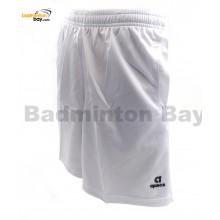Apacs Dri-Fast Quick Dry White Sport Shorts Pants AP-063ii