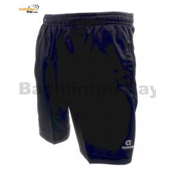Apacs Dri-Fast Quick Dry Black Sport Shorts Pants AP-083 (3cm longer than AP-063ii)