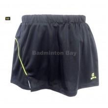 Apacs Dri-Fast Lady Women's Black Sport Pantskirt (Skort Skirt) SK-110