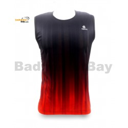 Apacs Sleeveless Dri-Fast AP-10050 Shirt Jersey Black Orange