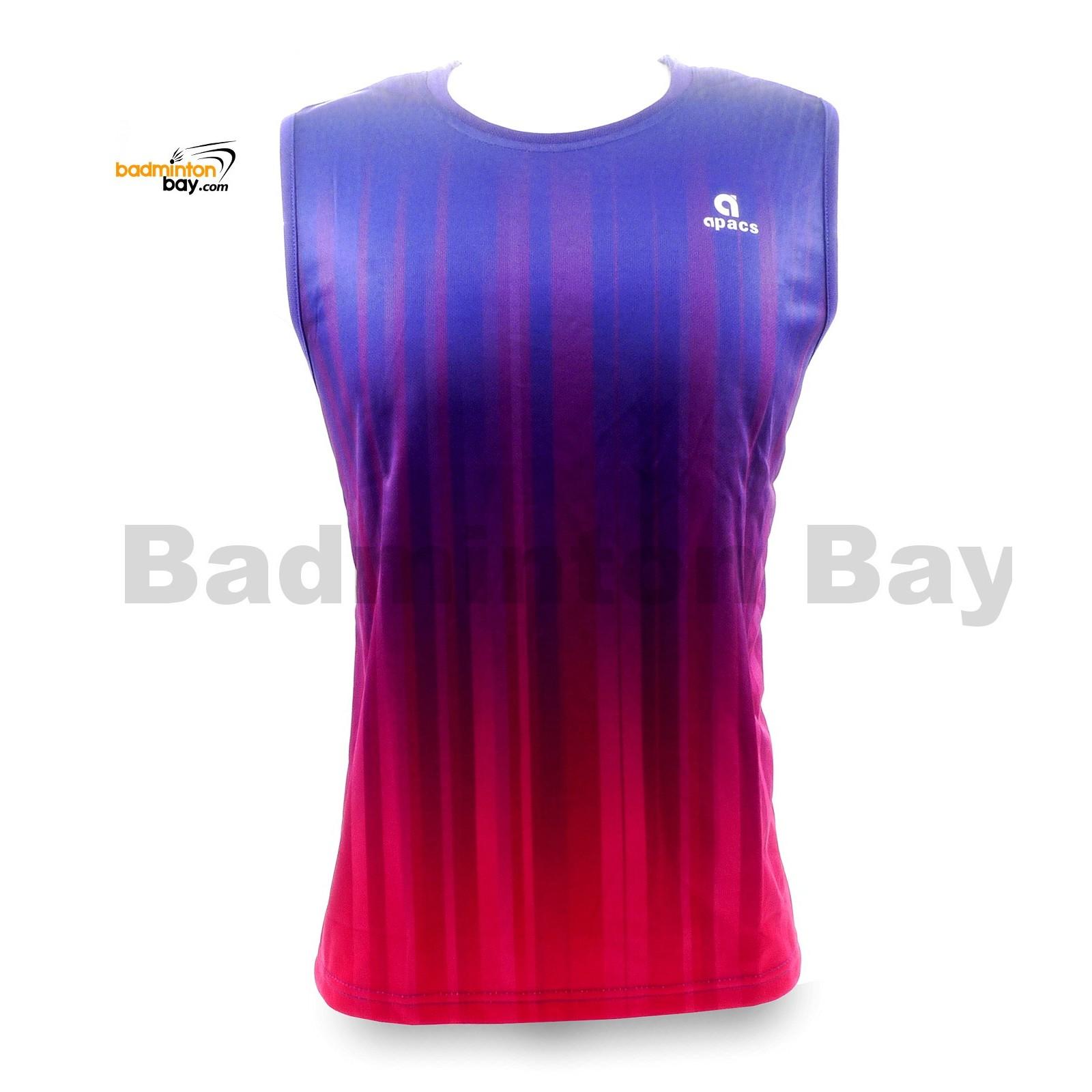 Apacs Sleeveless Dri-Fast AP-10050 Shirt Jersey Purple Pink