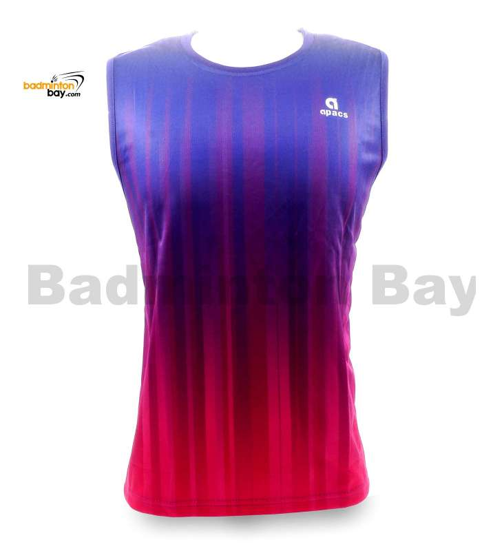 Apacs Sleeveless Dri-Fast AP-10050 Shirt Jersey Purple Pink