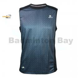 Apacs Dri-Fast AP10056 Black Sleeveless T-Shirt Quick Dry Sports Jersey