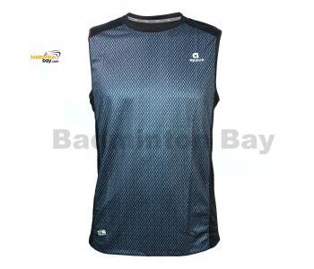 Apacs Dri-Fast AP10056 Black Sleeveless T-Shirt Quick Dry Sports Jersey