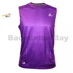Apacs Dri-Fast AP10056 Purple Sleeveless T-Shirt Quick Dry Sports Jersey