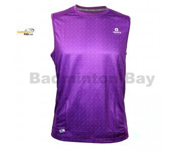 Apacs Dri-Fast AP10056 Purple Sleeveless T-Shirt Quick Dry Sports Jersey