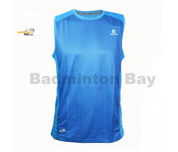 Apacs Dri-Fast AP10056 Sky Blue Sleeveless T-Shirt Quick Dry Sports Jersey