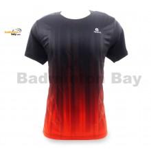 Apacs Dri-Fast AP-10083 Black Orange T-Shirt Jersey