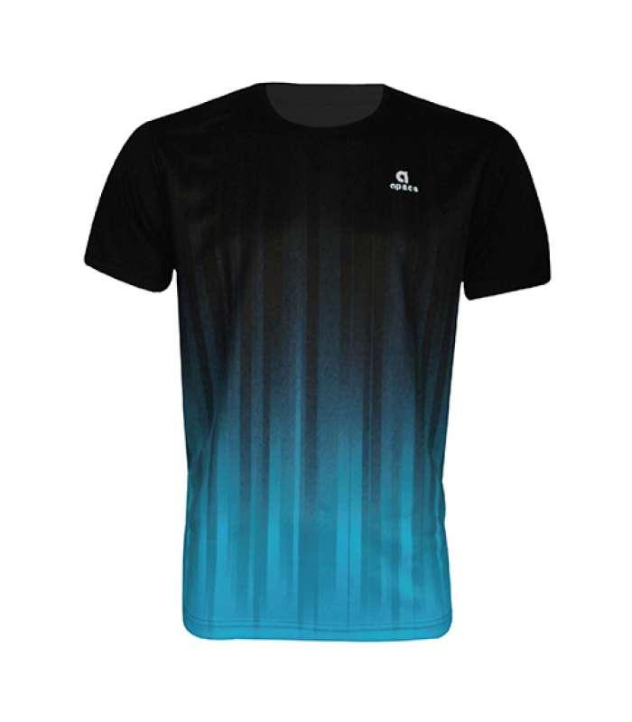Apacs Dri-Fast AP-10083 Black Blue T-Shirt Jersey