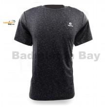 Apacs Dri-Fast AP-10092 Black Sports T-Shirt Quick Dry Sports Jersey
