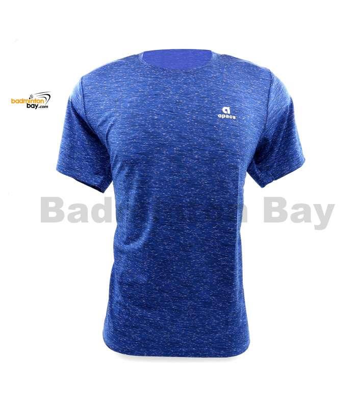 Apacs Dri-Fast AP-10092 Blue Sports T-Shirt Quick Dry Sports Jersey