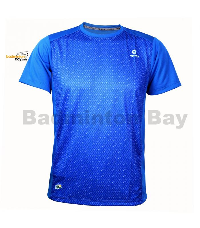 Apacs Dri-Fast AP10107 Royal Blue T-Shirt Quick Dry Sports Jersey