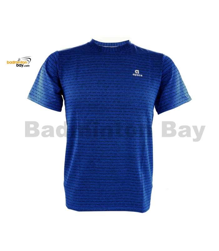 Apacs Dri-Fast AP-20202 Royal Blue T-Shirt Quick Dry Sports Jersey