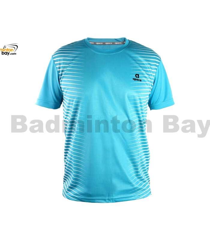 Apacs Dri-Fast AP-3258 Sky Blue T-Shirt Quick Dry Sports Jersey