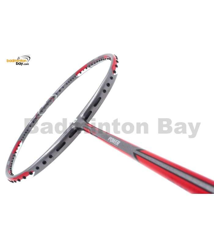 APACS Dual 100 Grey II Badminton Racket (5U)